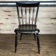 画像1: Vintage Wooden Chair (S116) (1)