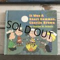 Vintage Book Snoopy It Was A Short Summer, Charlie Brown (S134)