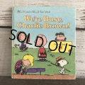 Vintage Book Snoopy We're Busy, Charlie Brown (S135)