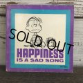 Vintage Book Snoopy Happiness is a sad song (S138)