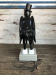 画像4: OLD CROW Vintage Light Up Store Display Statue (S151) (4)