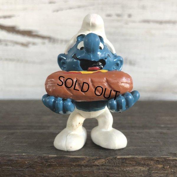 画像2: Vintage PVC Smurf Hot Dog (S170)