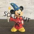 Vintage Disney Mickey Mouse PVC / FANTASIA (S166)