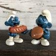 画像9: Vintage PVC Smurf Hamburger (S169)