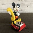 画像2: Vintage Disney Mickey Mouse PVC / Telephone (S168) (2)