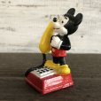 画像4: Vintage Disney Mickey Mouse PVC / Telephone (S168) (4)