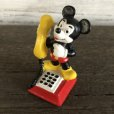画像6: Vintage Disney Mickey Mouse PVC / Telephone (S168) (6)