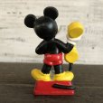 画像3: Vintage Disney Mickey Mouse PVC / Telephone (S168) (3)