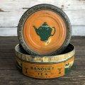Vintage Banquet Tea Can (S180)