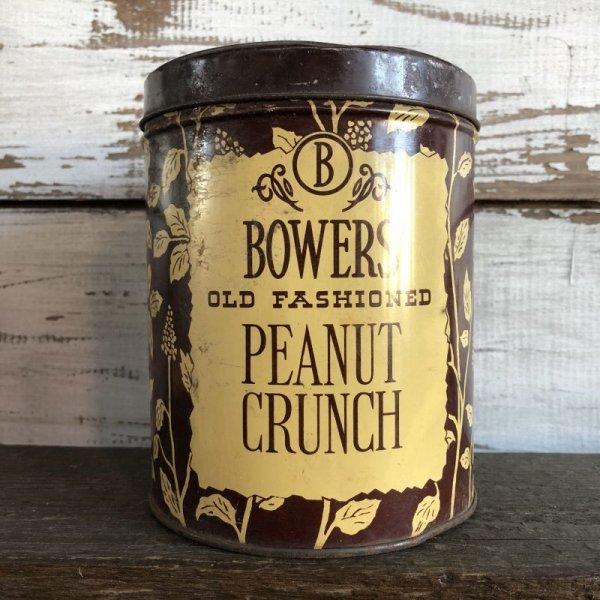 画像1: Vintage Bowers Peanut Crunch Can (S176)