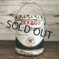 Vintage Oil can TEXACO U.S. 5 GAL (S181)