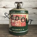 Vintage Oil can Durable U.S. 5 GAL (S183)