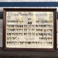 40s Vintage U.S.Naval Resrve Midshipman's School (S189)