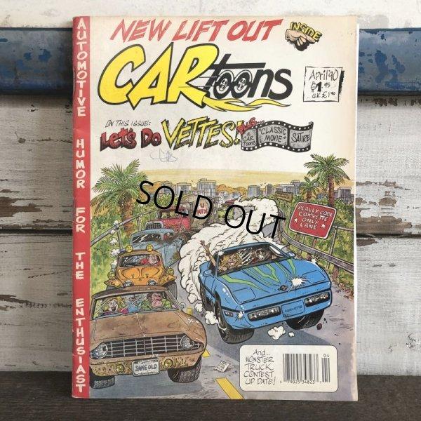 画像1: Vintage CARtoons Magazine April '90 (S199)