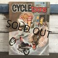 Vintage CYCLE'toons Magazine April '71 (S203)