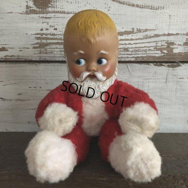 画像1: 50s Vintage Knickerbocker Baby Santa Doll (S220)