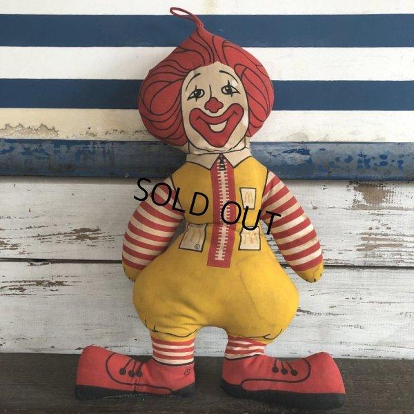 画像1: 70s Vintage McDonald's Pillow Doll RONALD (S229)