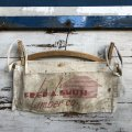 Vintage Advertising Work Apron FRED A. SMITH Lumber Co. (S243)
