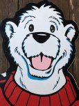 画像9: Vintage ICEE Polar Bear Giant Store Display Panel 165cm (S247)
