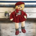 Vintage Fili Dolligund Gund Girl Doll (S251)
