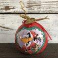 画像4: 90s Vintage WB Daffy Duck Christmas Ball Ornament (S270)