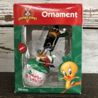 90s Vintage WB Daffy Duck Ornament (S274)