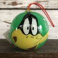 90s Vintage WB Daffy Duck Christmas Ball Ornament (S269)
