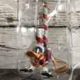 画像4: 90s Vintage WB Daffy Duck Candy Cane Ornament (S260)