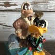 画像10: 【SALE】 90s Vintage WB Daffy Duck Figurine Candle (S258)