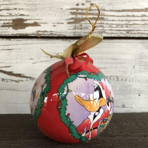 画像2: 90s Vintage WB Daffy Duck Christmas Ball Ornament (S270)