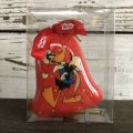 90s Vintage WB Daffy Duck Christmas Ball Ornament (S271)