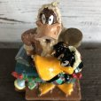 画像4: 【SALE】 90s Vintage WB Daffy Duck Figurine Candle (S258)