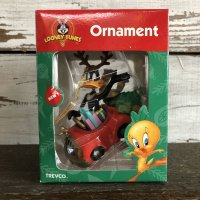 90s Vintage WB Daffy Duck Ornament (S263)