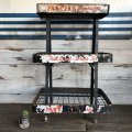 Vintage Par-T-Pak Beverages Soda Store Display Rack (S273)