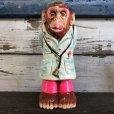 画像1: Vintage Chaikware Chimpanzee Psychedelic Doctor (S256) (1)
