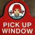 画像6: Vintage Original Wendy's PICK UP Sign (S277)