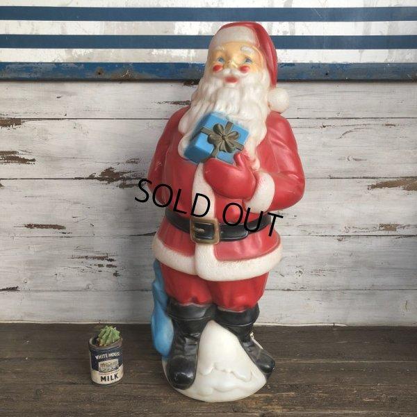 画像1: Vintage Santa Claus Lamp 85cm (S290)