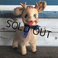 Vintage Rushton Reindeer Rubber Face Doll (S294)