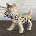 Vintage French Bulldog Ceramic Statue  (S280)