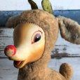 画像7: Vintage Rudolph the Red Nosed Reindeer Rubber Face Doll (S293)