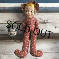 Vintage Celluloid Face Long Girl Doll (S318)