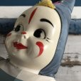 画像5: Vintage Celluloid Face Clown Doll 60cm (S322) (5)