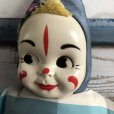 画像3: Vintage Celluloid Face Clown Doll 60cm (S322) (3)