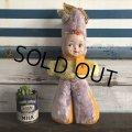 Vintage Celluloid Face Kids Bunny Costume Doll 43cm (S320)