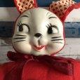画像4: Vintage Celluloid Face Valentine Bunny Doll (S324)