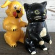 画像9: 50s Vintage Ken-L Ration Fido Dog Fifi Cat S&P Shakers (S331)