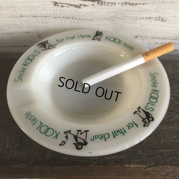 画像1: 50s Vintage KOOL Cigarettes Advertising Ashtray (S332)