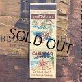 Vintage Matchbook CARLSBAD HOTEL (MA1725)