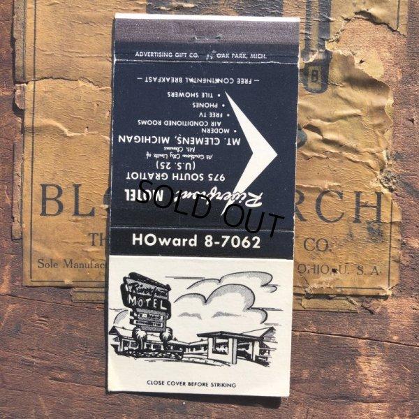画像1: Vintage Matchbook Riverbrout Motel (MA1742)