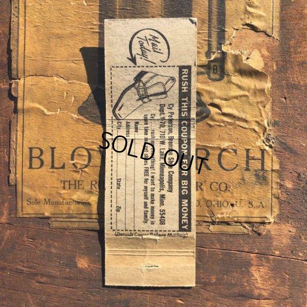 画像2: Vintage Matchbook Shoe Business (MA1811)